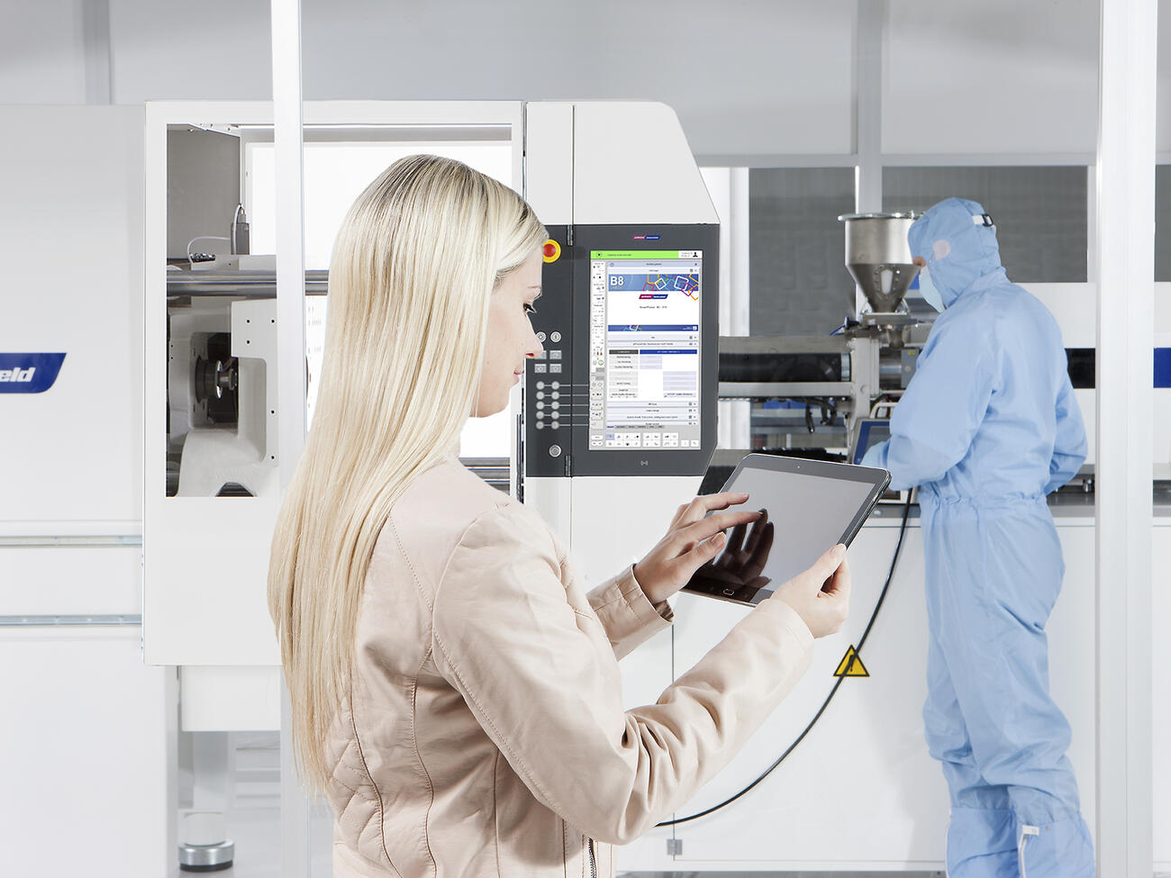 MEDICAL clean room production and remote control